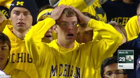 Michigan Fan Meme - dejected kids in the u of m memes mgoblog