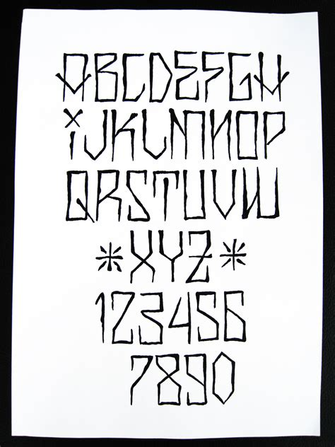 tattoo fonts traditional another cholo alphabet lettering fonts