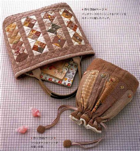 Japanese Patchwork Bags - 17 best ideas about japanese patchwork on