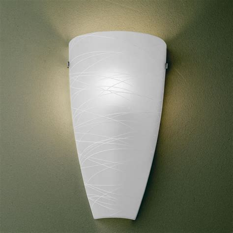 Pocket Wall Sconce Possini Euro Frosted 13 1 4 Quot H Art Glass Pocket Wall Sconce