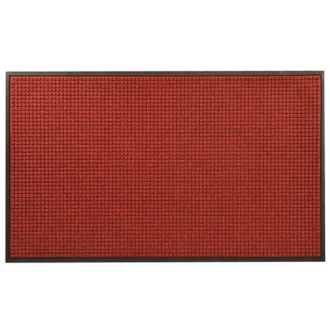 Rubber Backed Mats by Hometrax Designs Guzzler Black 36 In X 48 In Rubber