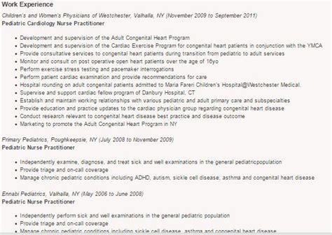 Sample Resume For Pediatric Nurse – 11  Nurse Resumes   Free Sample, Example, Format   Free