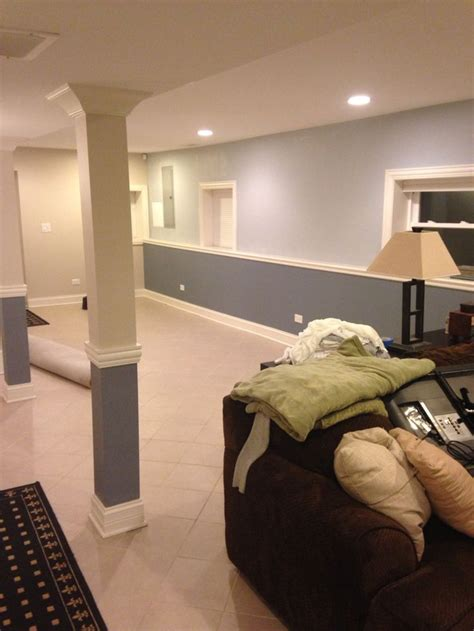 basement bedroom paint colors finally painted basement sherwin williams krypton and