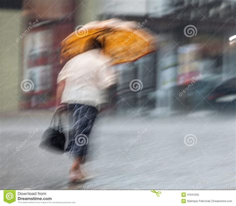 X2 3746 St Umbrella walking the in rainy day editorial image image of abstract road 41941505