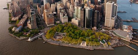 the battery in lower manhattan