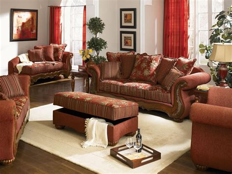 Living Room Traditional Sofa Chenille Fabric Traditional Living Room Savona U142