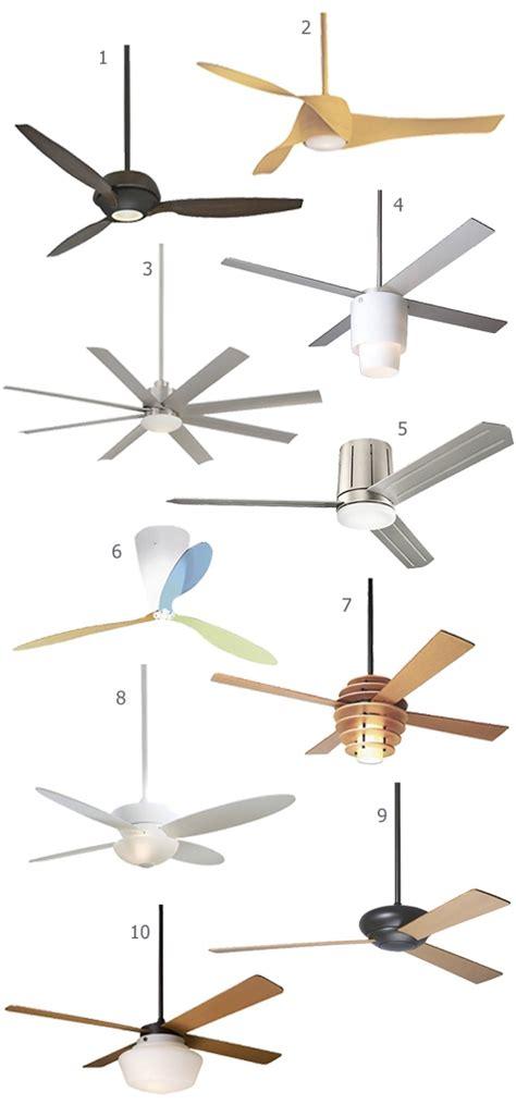 designer ceiling fans get the look top 10 modern ceiling fans stylecarrot