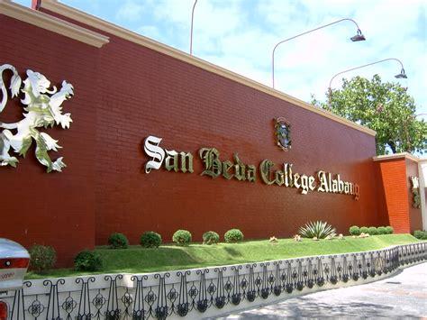 San Beda College Alabang Letterhead elementary rocky angelo m gabatin