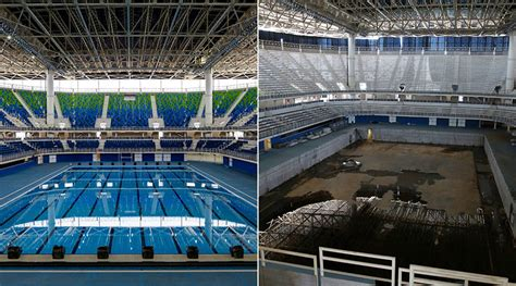 rio olympic venues now deserted rio 2016 venues decaying just 6 months after