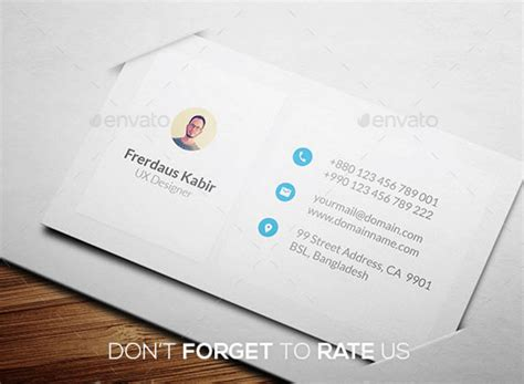 business card st top 32 free psd business card templates and mockups 2017