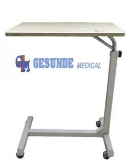Overbed Table Meja Mayo Plywood overbed table besi meja makan pasien toko medis jual