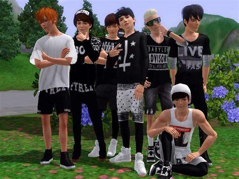 Custom Kpop Bts 1 bangtan boys in the sims 3 k pop amino