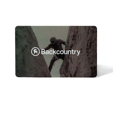 Backcountry Gift Card - backcountry gift card backcountry com