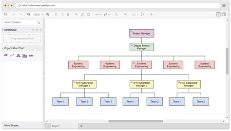 easy organizational chart maker organization chart maker