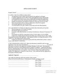 Commercial Lease Agreement Florida Template by Florida Rental Lease Agreement Templates Legalforms Org