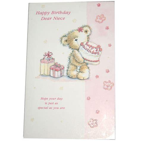 Happy Birthday Wishes Dear Niece Happy Birthday Dear Niece Greeting Card Send Gifts To