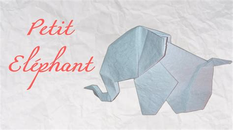 How To Make An Elephant Out Of Paper Mache - origami el 233 phant en papier hd