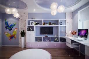 Purple Girls Bedrooms - casting color over kids rooms