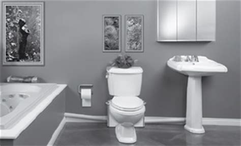 put a bathroom anywhere macerating toilets upflushing sewage systems for basements