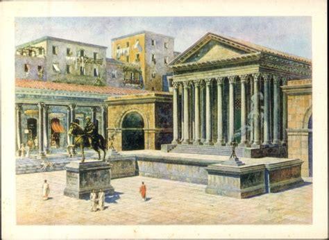 temple of venus genetrix church rome forum of caesar 1998 2008 reconstructive view of
