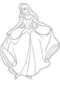 Coloriage Princesse Aurore 224 Imprimer Sur Coloriages Info