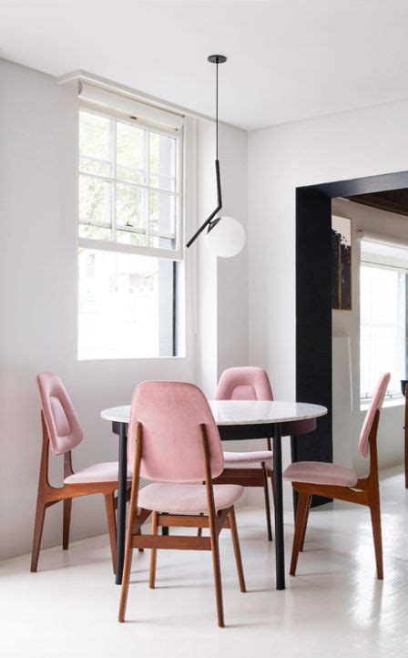 pink dining table best 25 pink chairs ideas on pink velvet 2