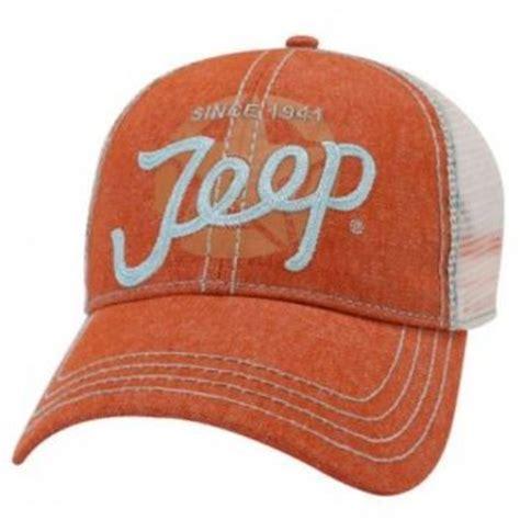 Jeep Trucker Hat Jeep Script Trucker Cap Hats Caps From Myjeepaccessorie