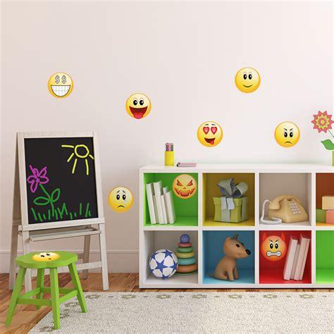 Smiley Deco Sticker by Stickers Muraux Pour Les Enfants Sticker Smileys Pack 2