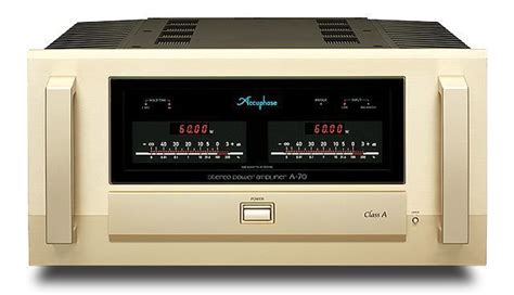 accuphase  power amplifier ultra high  audio