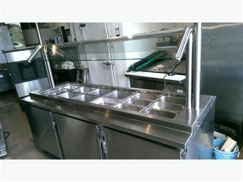 table top refrigerated salad bar quest salad bar refrigerated self serve table outside