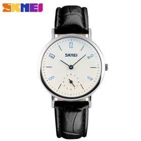 skmei jam tangan analog wanita 9120cl white black jakartanotebook