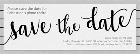 Save The Date Invitations And Cards Evite Com Fundraiser Save The Date Templates