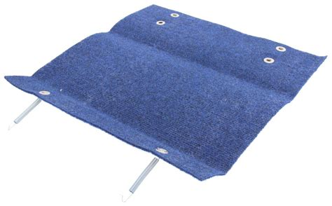 Step Rug by Camco Rv Step Rug 18 Quot Wide Blue Camco Accessories And