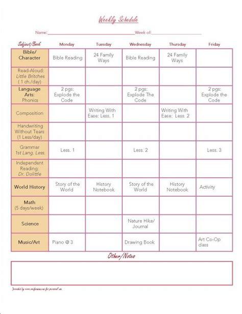 organization printables weekly planner planners