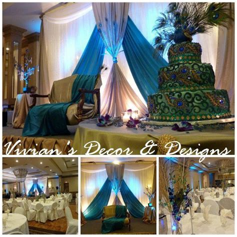 Ontario Wedding Decorators by 61 Best Images About Peacock Blue Floral Arrangement On
