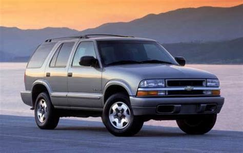 old car repair manuals 1993 chevrolet s10 blazer electronic valve timing used 2003 chevrolet blazer pricing for sale edmunds