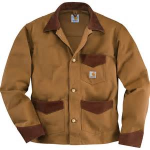 large jackets product carhartt unlined duck brush jacket brown large style model k568