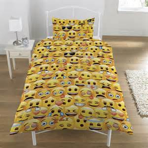 Mickey Minnie Duvet Sets Emoji Single Duvet Quilt Cover Bedding Set Boys Girls Kids