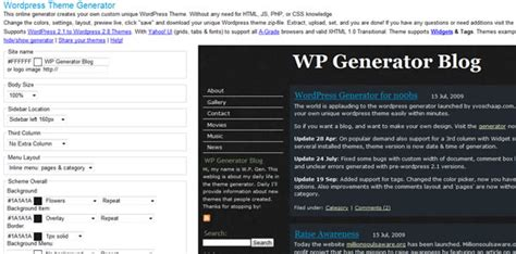 themes generator css 50 tools and generators for css development