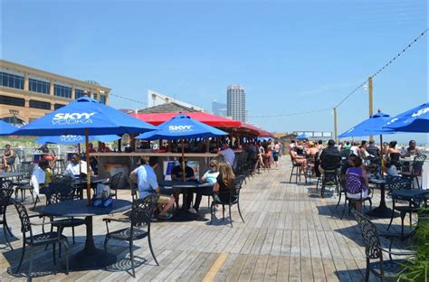 top bars in atlantic city atlantic city beach bars boardwalk