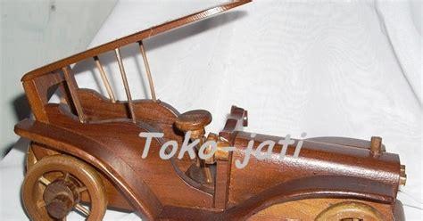 Miniatur Kayu Mobil Kuno Antik Olb1646 kerajinan kayu jati miniatur mobil