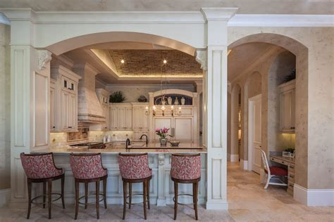 kitchen arch interior design arches and columns entry transitional with