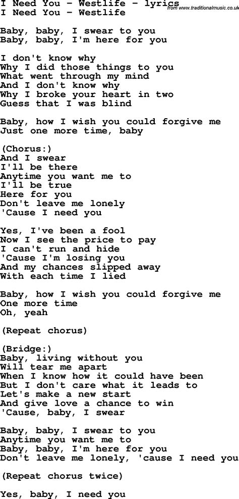 The Best and Most Comprehensive Whenever I Need You Lyrics
