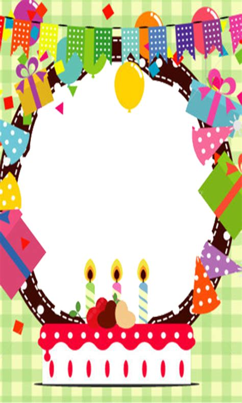 birthday frames android apps on happy birthday frames hd appstore for android