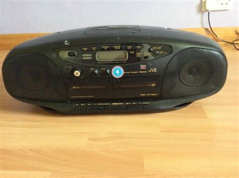 cassette cd radio player jvc cd cassette and radio player for sale in coulsdon