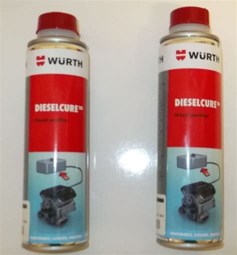 wurth injector cure 330ml diesel cure 2 pack dh farm machinery