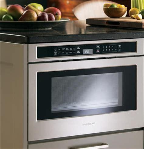 ge microwave drawer oven monogram 1 2 cu ft drawer microwave zwl1126sjss ge