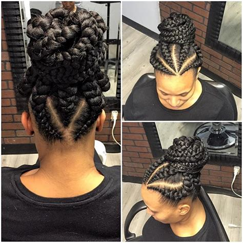 latest ghana weaving hairstyles top ten beautiful flat twist braids styles to rock next