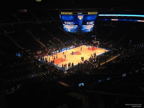 Madison Square Garden Section 220 New York Knicks