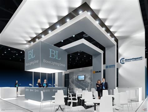 booth design lighting 35 best booth stand pameran images on pinterest exhibit